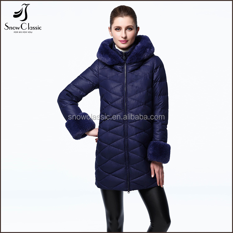 Fashion clothing 2017 ultra light italy winter women down jacket