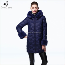 Fashion clothing 2017 ultralight italy winter women down jacket