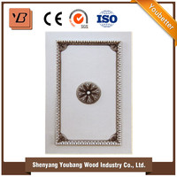 Solid wood PVC MDF frame door high gloss acrylic kitchen cabinet door /kitchen cabinet door