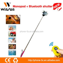 hand grip professional monopod selfie stick for iphone
