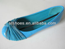 2014 fashion new design slip-on flat shoes, women shoes