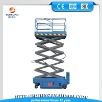 Multifunctional / Hydraulic/ Moveable 4 m-18m Self Propelled Mobile Scissor Lift for Repairing