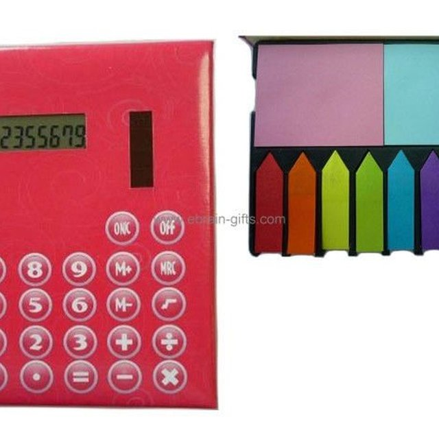 Memo Pad Calculator with Cover