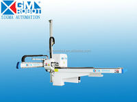 Industrial Robotic Arm with delta servo motor for injection molding machine
