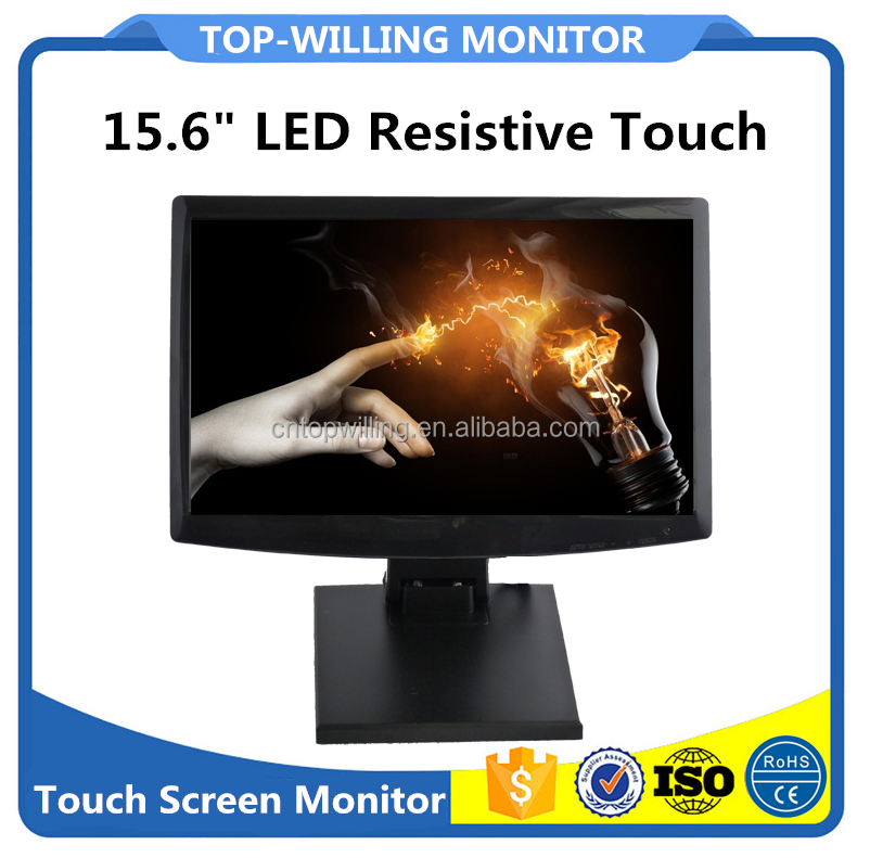 T156 Desktop Touch Monitor 15.6 inch FULL HD Resistive Touch Panel 12V