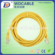 wholesale utp 4pairs CCA/CCS/BC rj45 network cable 5m jumper wire