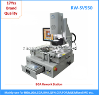 Vacuum pump automatic soldering station with lcd touch screen