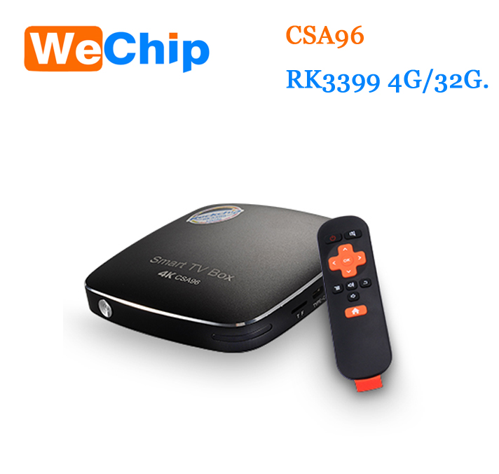 Hot CSA96 Android 6.0 Rockchip RK3399 Quad Core Tv Cable Box 64 Bit 4GB 32GB cable tv set top box csa96
