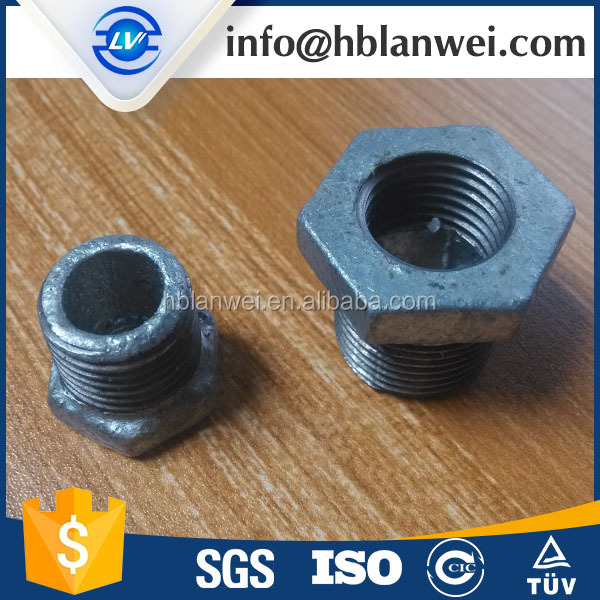Galvanized Bushing 291 Malleable Iron Pipe Fittings