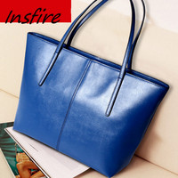 New Design PU leather Printed Lady Handbag and online wholesale shop Tote Bag