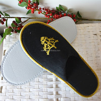 Bedroom Guest Slippers Hotel Slippers customized logo slipper