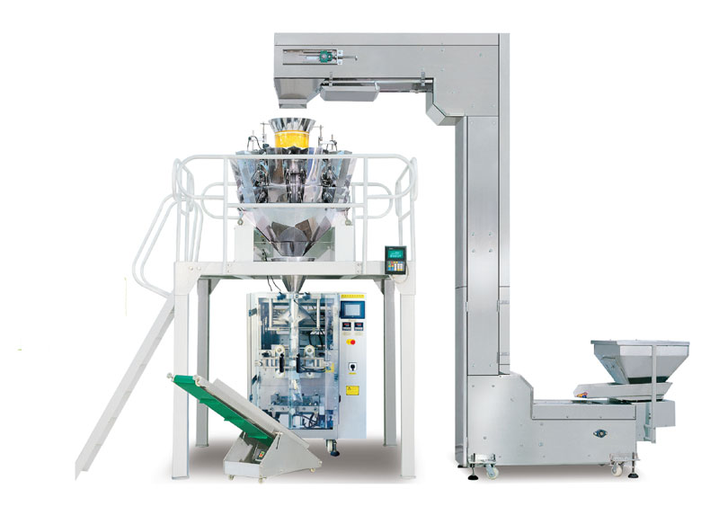 CE approved Electronic Scale Potato Chips Packing machine online sale