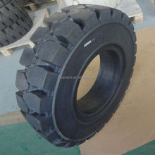 LPG gas forklift rubber solid tires 15x41/2-8 16x6-8 for selling