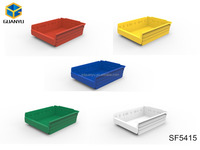 plastic box,semi-open fronted plastic storage bins(SF5415)