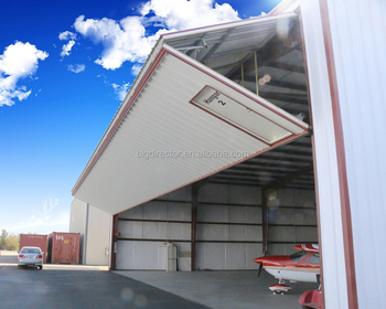 Modular Cheap Prefabricated Light Steel Structure Aircraft Hangar