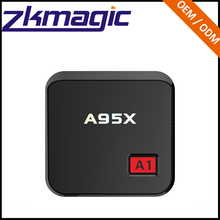Factory Sale Good Quality Amlogic S905X 1gb 8gb H.265 Android 6.0 Quad Core Tv Box A95X A1