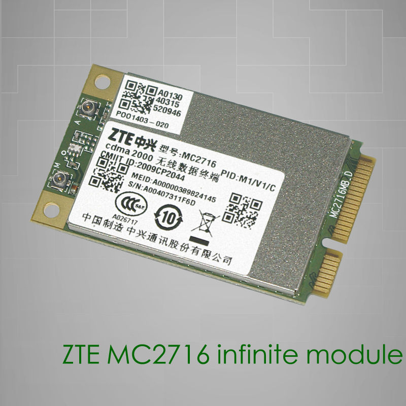 ZTE MC2716 low cost CDMA20001x/ EVDO Module with GPS,SMS DATA functions