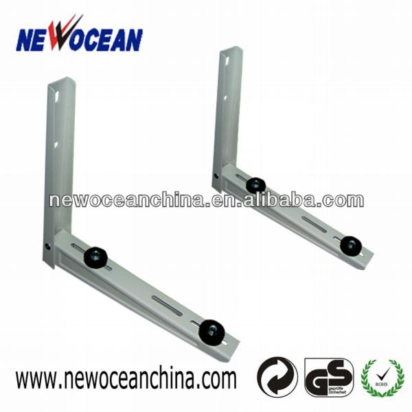 Outside new powder coated folding air conditioner bracket/wall mount
