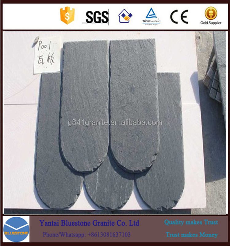 Chinese Rusty Roofing Culture Slate Hot sales slate gray tiles