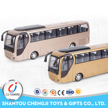 Four way plastic electric rc toy mini bus model with light