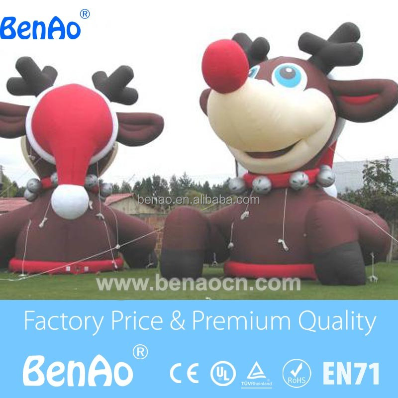 X181 2016 Outdoor inflatable christmas decorations,Outdoor Inflatable Christmas cartoon Decorations For Sale