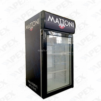 Commercial Beer Chiller Small Fridge Counter Top Display Cooler
