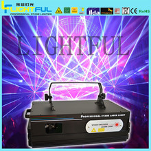 rgb small stage laser lighting, ktv nightclubs disco laser light projector