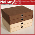 NAHAM stackable office stacking storage drawers boxes