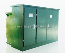 Transmission and distribution equipment - outdoor prefabricated substations