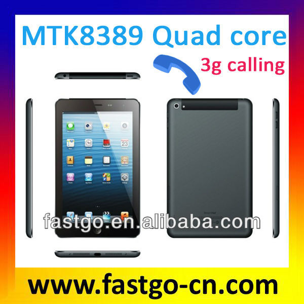 Fastgo factory i robot android tablet pc touch screen MTK8389 quad core CPU android 4.1 OS