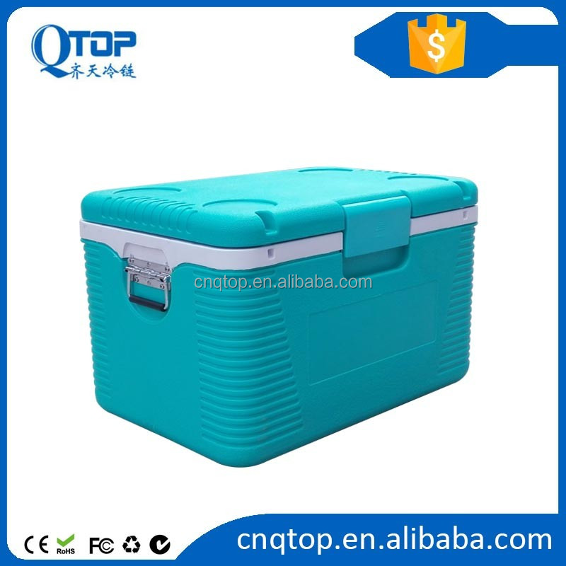 insulated ice cooler boxes for medicine vaccine blood collection
