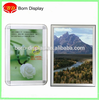 Easy Open Aluminum frame 25MM Back MDF Board A3 Size Mitred Corner Picture Snap Frame for Advertising