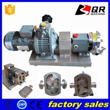 food grade lobe rotor pump ( ce approved ) polymer pump horizontal rotor pump