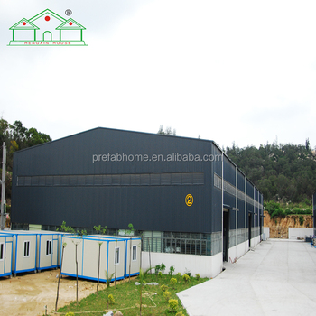 Hengxin steel structure economic prefab 1500m2 workshop and warehouse for sale