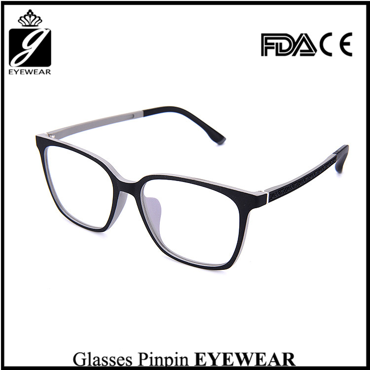 New design china brand name spectacles frame