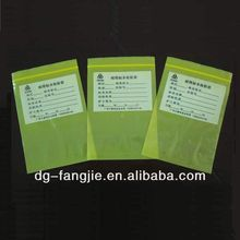 2013 widely used plastic bag zipper