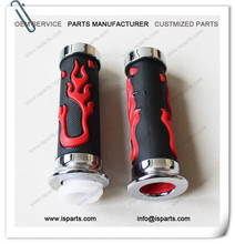 Flame Handle Hand Grip 7/8 inch 22mm For Motorcycle