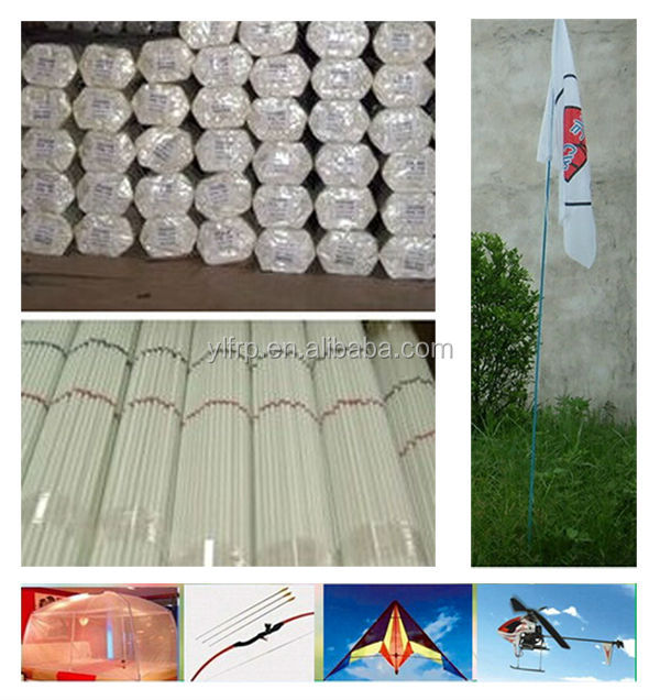 Pultrusion Plastic Flexible Flag Pole