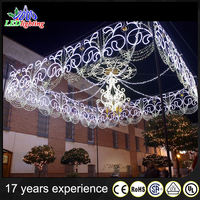 Led Christmas Light Street Decoration Arch Lights With Star ...