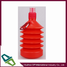 500ml Collapsible Water Bottle, Shrinkable, BPA Free plastic