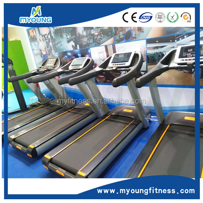 Gym equipment treadmill type body perfect treadmill with dc motor