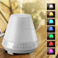 200ml Smart 7 LED humidifier with alarm colock/music player/aroma diffuser/bluetooth speaker