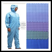wujiang shengze supplier OEM woven poly grid electrically conductive carbon fiber fabric for workwear