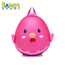 2017 hot sale 3d kids backpack cute cartoon school bag