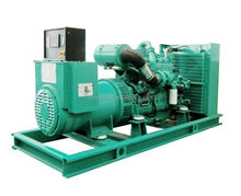 Turbocharger Air Inlet Googol Engine 260kW 325kVA Diesel Generator Price Economy
