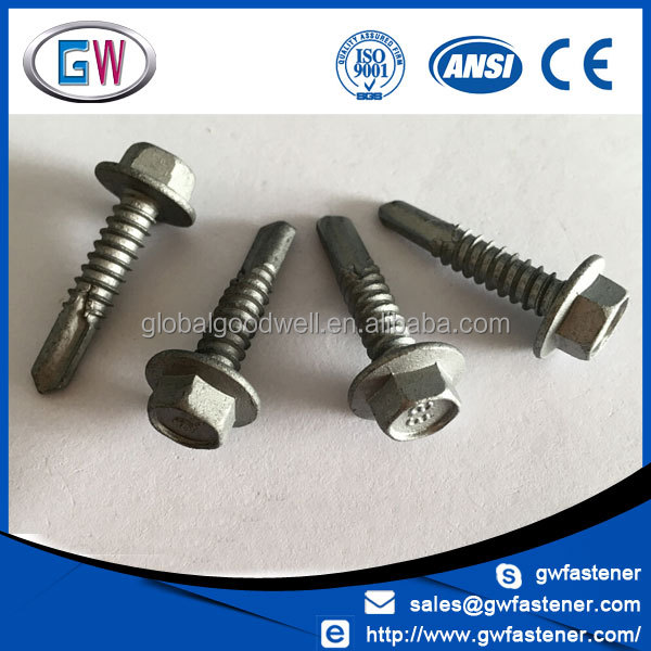 Manufacturers as 3566 standard self drilling screw