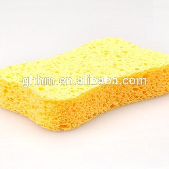 Custom wholesale bath and body cellulose foam