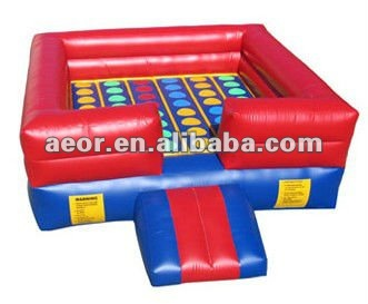 Pop-selling Inflatable Twister/inflatable sport games