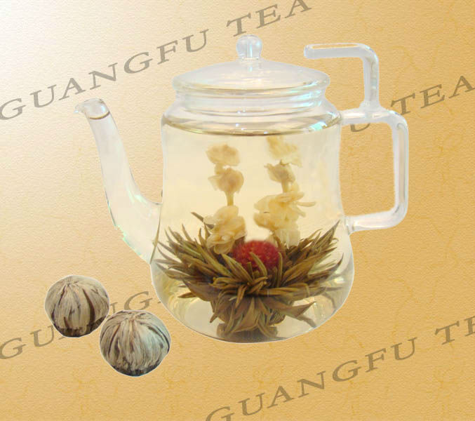First sight love(Yi Jian Zhong Qing) blooming tea