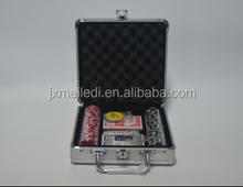 professional entertainment casino 11.5g 100pcs poker game set